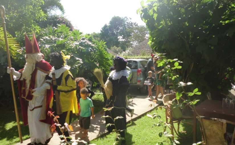 Sinterklaas in Tanzania